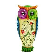 Benzara Owl Table Top Showpiece Made Of Durable Resin
