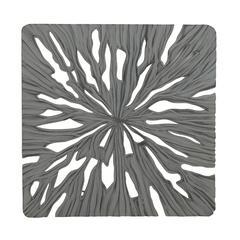 "Benzara Intricate Designer Wood Carved Wall Panel 48""W, 48""H"
