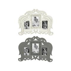 Vintage Themed Set Of 2 Wooden Wall Photo Frames