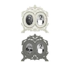 Stunning Set Of 2 Wooden Wall Photo Frames