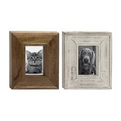 Wood Photo Frame 2 Assorted