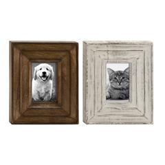 "Astounding Wood Photo Frame 2 Assorted 9""W, 11""H"
