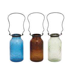 The Stylish Glass Metal Bottle 3 Assorted
