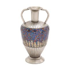 The Dashing Metal Mosaic Color Vase