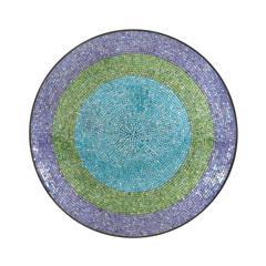 Benzara Innovatively Styled Metal Mosaic Wall Platter