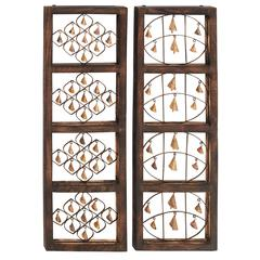 Sweet Wood Bell Wall Panel 2 Assorted