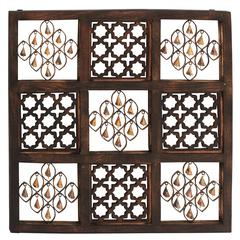 Always In Vogue Wood Bell Wall Panel