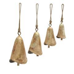 Charming Set Of Four Metal Bells