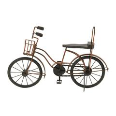 Benzara Antique Themed Metal Wood Cycle