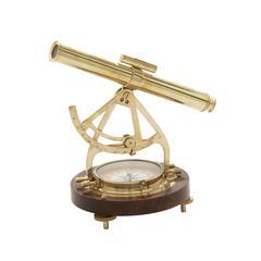 All Class Brass Wood Compass
