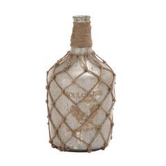Benzara Elegant Styled Awestruck Glass Bottle Vase