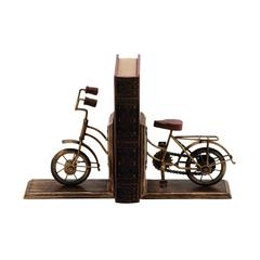 Bookend Sporting A Cycle Shaped Design