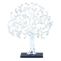 Benzara Aluminium Decor Tree Robust And Durable Construction