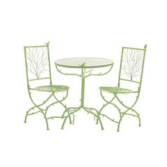 Benzara The Different Metal Bistro Set Of 3