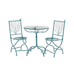 Simply Too Cool Metal Bistro Set Of 3