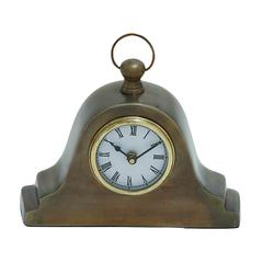 Benzara Tambour Style Table Clock In Traditional