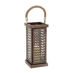 Well Designed Attractive Metal Glass Lantern