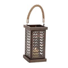 Fascinating Styled Metal Glass Lantern