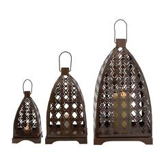 Floral Patterned Fantastic Metal Lantern