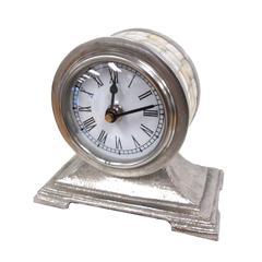 Benzara The Cute Aluminum Table Clock