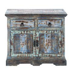 "Benzara Durable And Long Lasting 30"" Wooden Cabinet With Stylish Design"