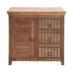 Benzara The Lovely Wood 3 Drawer Chest
