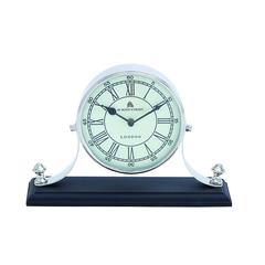 Benzara Traditional Table Clock With Classic Design