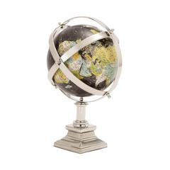 The Colorful Metal World Globe