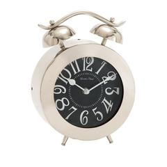 Distinctively Cute Stainless Steel Table Clock