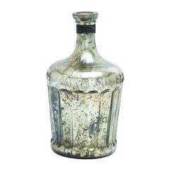 Benzara Glass Bottle Includes Minimal Styling