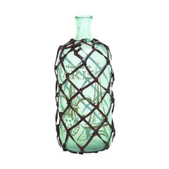 Benzara Petite And Attractive Glass Bottle Transparent Design
