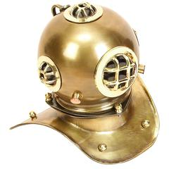 Brass Diving Helmet For Smaller Spaces
