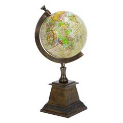 Aluminum Globe Serves As An Educational Aid