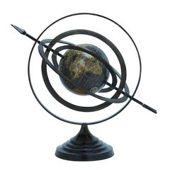 Benzara Metal Globe With Beautiful Stable Design & Stable Base