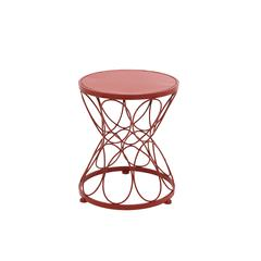 Bright Exclusive Metal Red Plant Stand