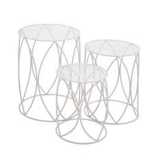 The Heavenly Set Of 3 Metal Plant Stand