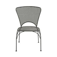 Strikingly Styled Metal Chair