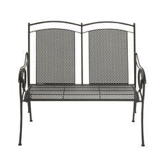 Benzara Classy Looking Metal Bench