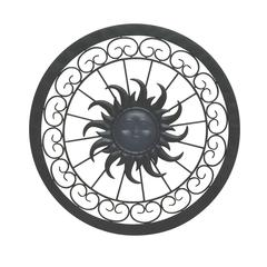 Stunning Metal Sun Wall Decor
