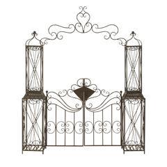 Alluring Metal Garden Gate