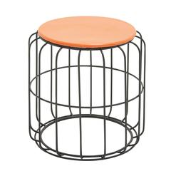 Benzara Appealing Metal Accent Table