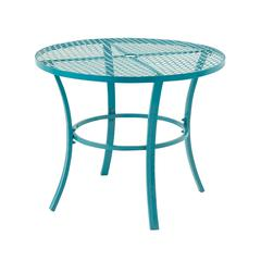 Benzara Attractive Metal Round Outdoor Table
