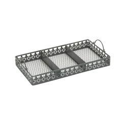 Benzara Alluring Metal Tray