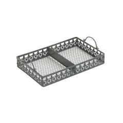 Benzara Amazing Metal Tray