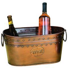 Benzara Metal Wine Cooler A Living Style Statement