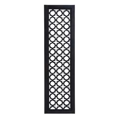 Black And White Wooden Wall Panel With Fine Attention To Details