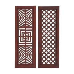 Benzara Wonderful Styled Wood Wall Panel 2 Assorted