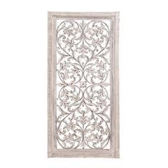 Benzara Wonderful Styled Chic Wood Wall Panel