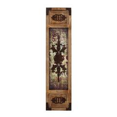 Benzara Wall Panel With Symmetrical Motifs And Unique Design