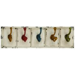 Beautiful Country Inspired Wood Metal Wall Hooks